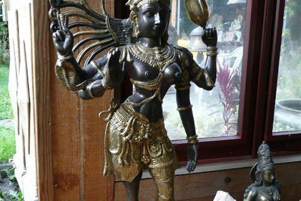 Ardhanarishvara - Messingfigur
