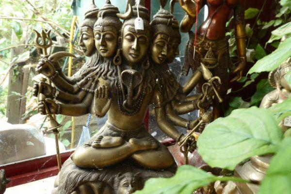 Shiva - Messingfigur