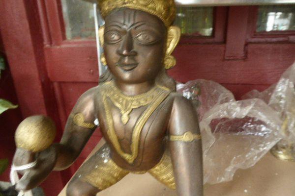 Krishnafigur - Asiatica Foth in Freiburg