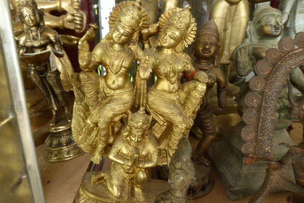 Rama und Sita auf Hanuman - Asiatica Foth