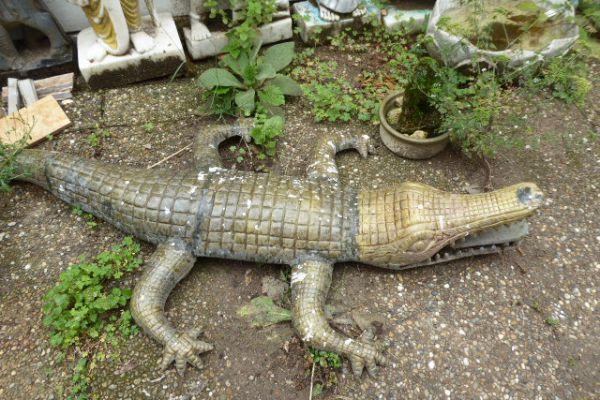 Krokodil - Asiatica Foth in Freiburg