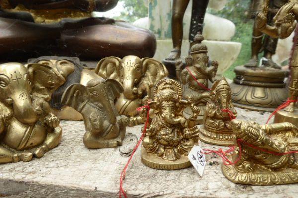 Ganesha - Messingguß