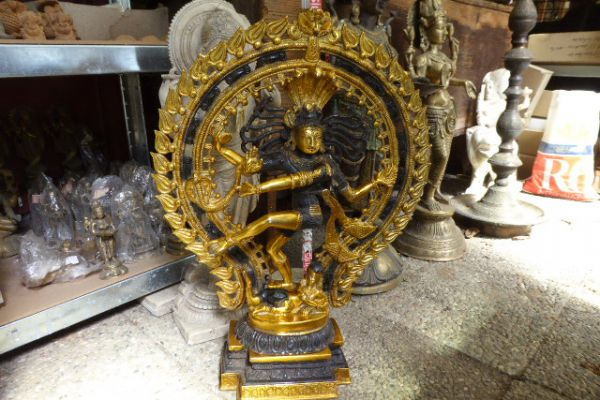 427 Nataraja-indische Bronze