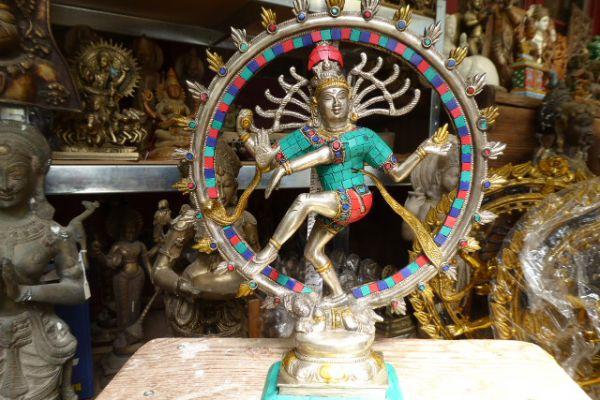 168 Nataraja-indische Bronze