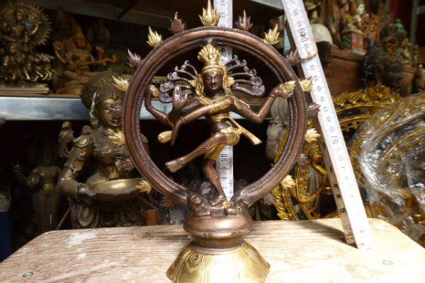 45 Nataraja-indische Bronze