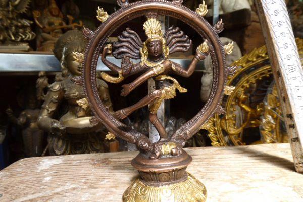 29,5 Nataraja-indische Bronze