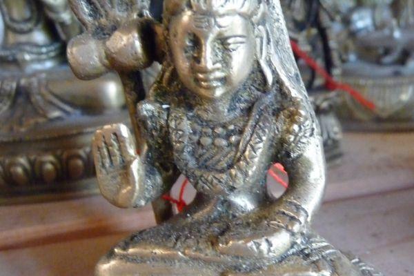 Shiva Jogeshvara - Messingfigur