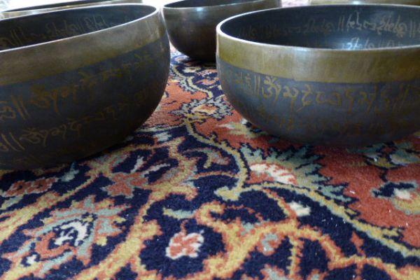 tibetische Klangschale - aus Orissa