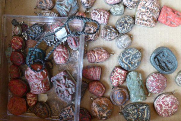 Glasfluß aus Nepal - Asiatica Foth