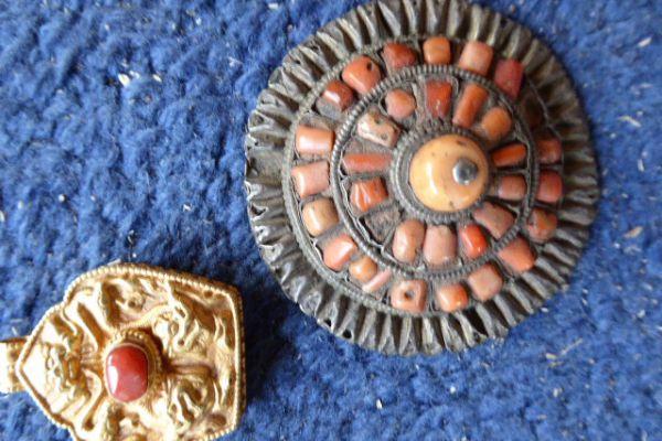 Gau Silber vergoldet aus Nepal - Asiatica Foth