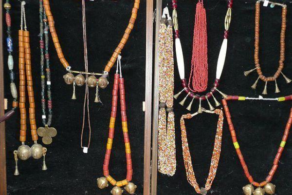 Halsschmuck für Krieger - Nagaland