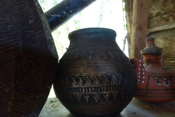 Reismaßgefäße - Gelbguss aus Bastar Stammesgebiet