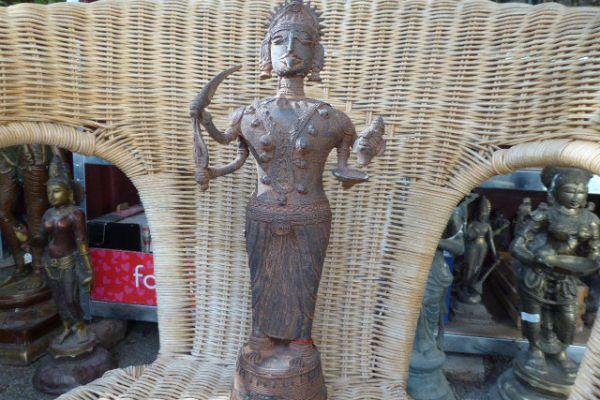 Kali - Gelbguss aus Orissa