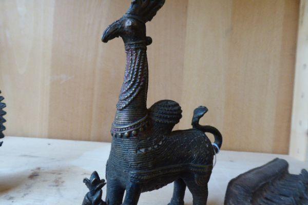 Götterspielzeug - Gelbguss aus Orissa