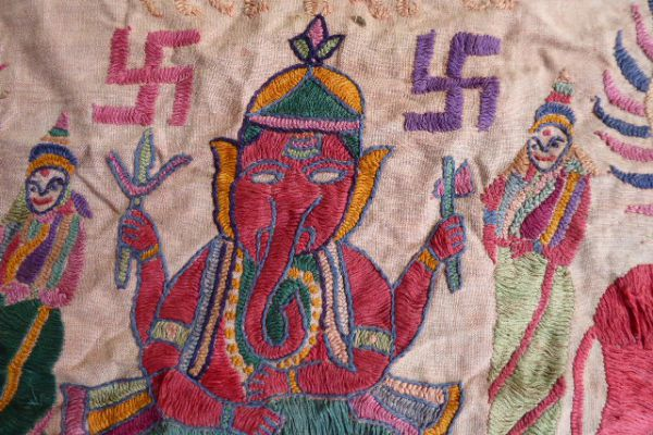 Ganesha Banjara Stickerei - Asiatica Foth
