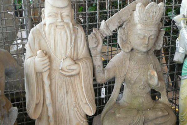Manjushri und Sternengott - asiatica großhandel