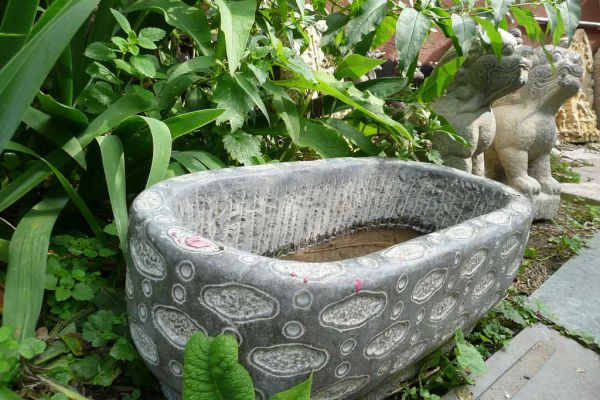 Steinwanne - Steinmetzarbeit aus China