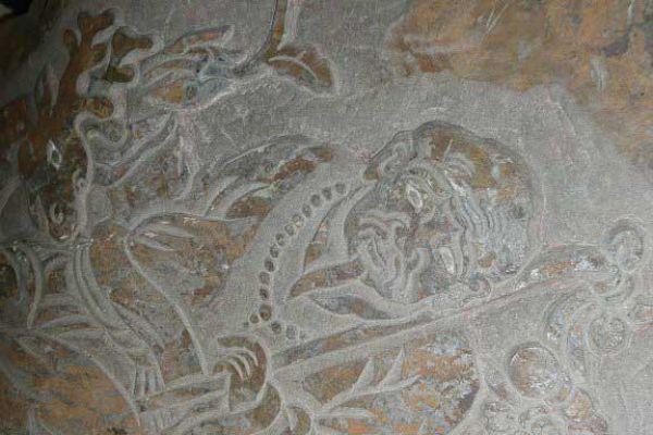 Marpa - Steinrelief aus Tibet