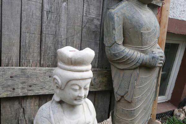 Quan Yin - Marmorfigur