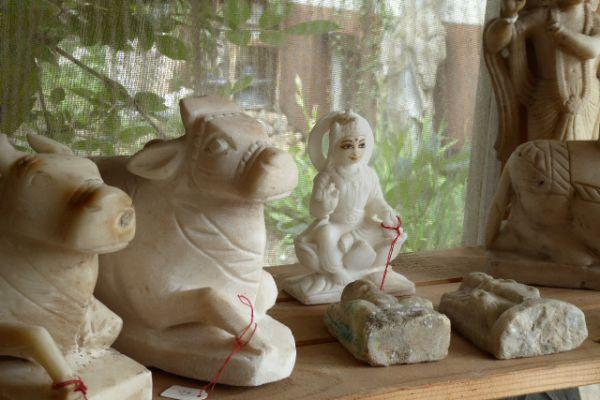Nandi - Marmorfigur