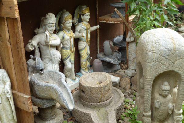Vishnu Avatars - Flußfund aus dem Ganges