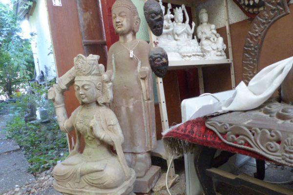 Manjushri und Buddha - asiatica Großhandel
