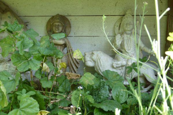 Krishna - Marmorfigur