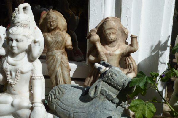 Hanuman - Marmorfigur