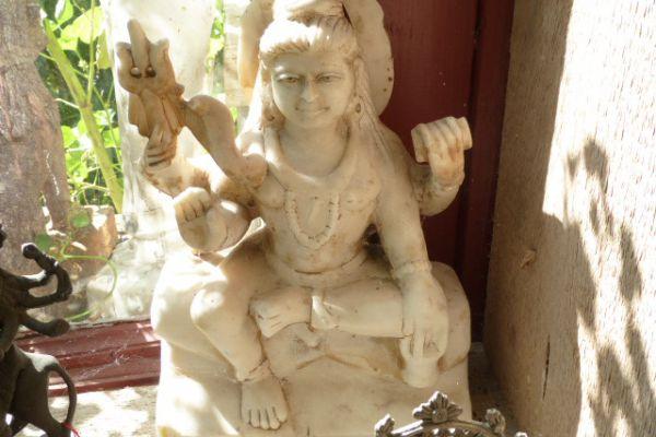 Shiva - Flußfund aus dem Ganges