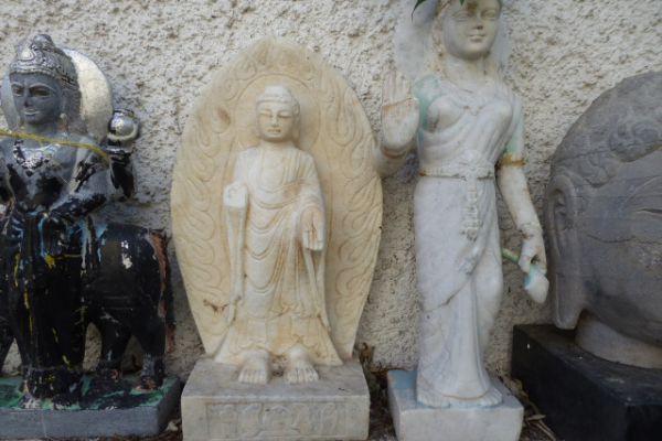 Buddha Marmor-Asiatika Foth Freiburg