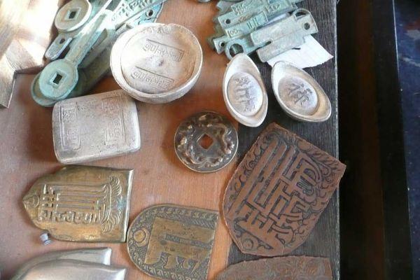 chinesische Münzen - Freiburg