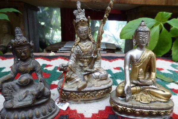 Padmasambava - Kultbronze aus Indien