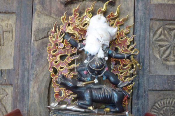 Yama - Shakjabronze aus Nepal