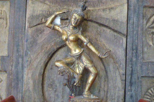 MajMaya - Shakjabronze vergoldet aus Nepal