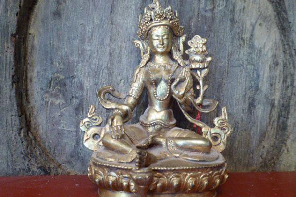 Tara - Shakjabronze aus Nepal