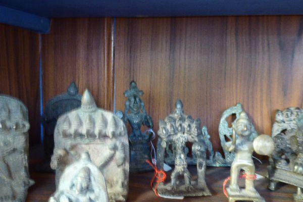 Pancmukhya und Ekmukhja - Gelbguss aus Maharastra