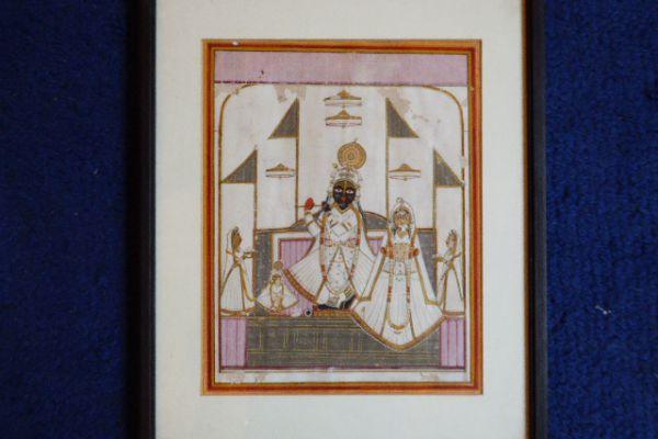 Krishna - Miniatur Rajasthan