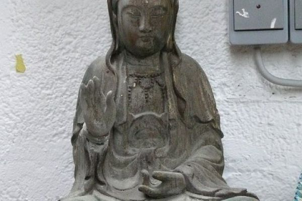 Quan Yin - Holzfigur