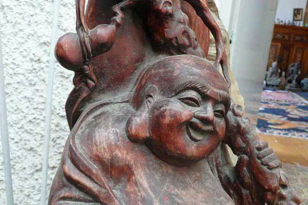 Hotai - Holzfigur