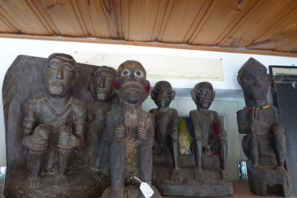 Naga Krieger - Holzschnitzerei Nagaland