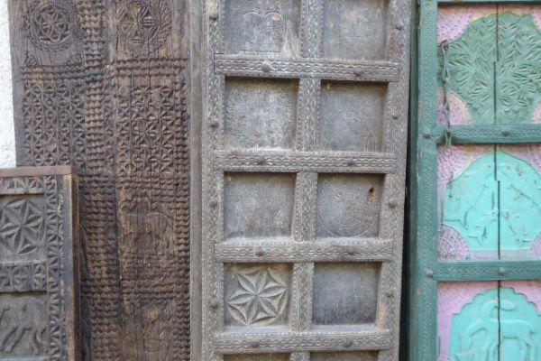 Tür von Hauplingshaus - Eisenholz aus Bastar