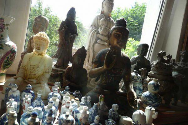 Quan Yin - chinesische Porzellanfigur