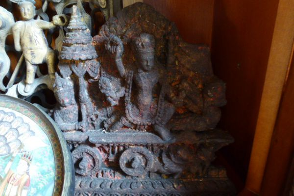 Surja - Tonrelief aus Nepal