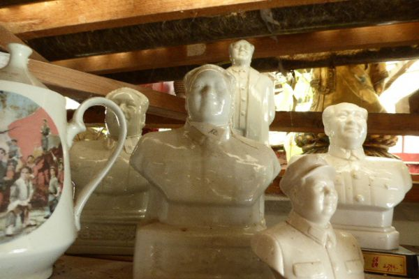 Mao Tse Tung - chinesische Porzellanfigur