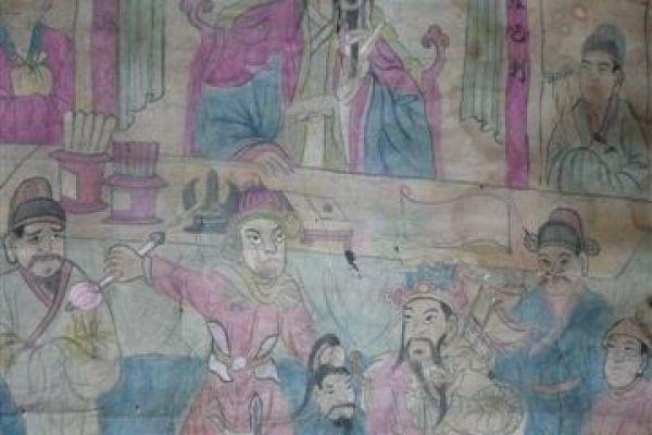daoistische Rollbilder - Asiatica Foth