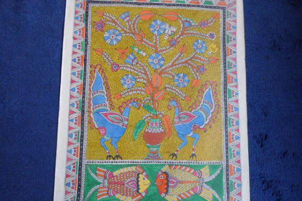 Madhubani Malerei - Asiatica Foth