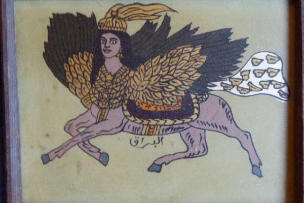 Hinterglasmalerei - Asiatica Foth