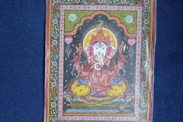 Ganesha Malerei aus Orissa - Asiatica Foth