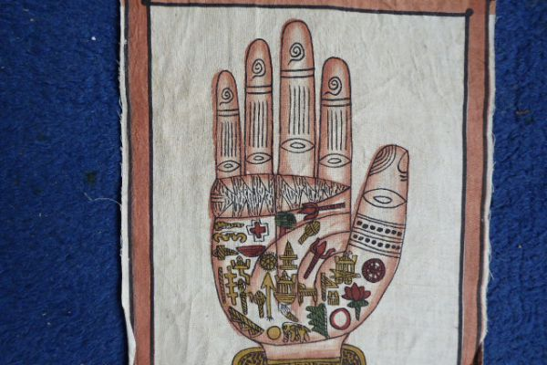 Malerei auf Baumwolle - Asiatica Foth