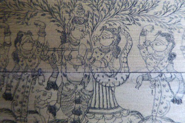 Palmblattmalerei - Asiatica Foth